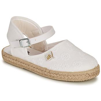 Παπούτσια Κορίτσι Μπαλαρίνες Citrouille et Compagnie ORINO Άσπρο