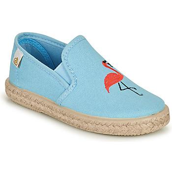 Παπούτσια Κορίτσι Μπαλαρίνες Citrouille et Compagnie OSARA Μπλέ / Σιελ
