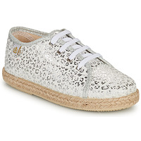 Παπούτσια Κορίτσι Χαμηλά Sneakers Citrouille et Compagnie OKOKI Argenté
