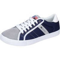 Παπούτσια Άνδρας Χαμηλά Sneakers Greenhouse Polo Club Sneakers Tessuto Blu