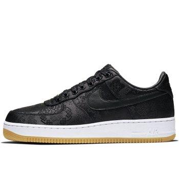 Παπούτσια Χαμηλά Sneakers Nike Air Force 1 Low x CLOT x Fragment Black Black / University Red – White