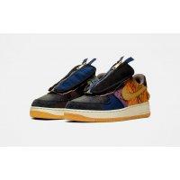 Παπούτσια Χαμηλά Sneakers Nike Air Force 1 Low x Travis Scott Multi-Color/Muted Bronze-Fossil