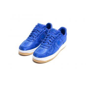 Παπούτσια Χαμηλά Sneakers Nike Air Force 1 Low x CLOT Silk Blue Game Royal/White-Gum Light Brown