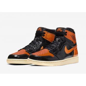 Παπούτσια Ψηλά Sneakers Nike Air Jordan 1 High Shattered Backboard 3.0 Black/Pale Vanilla-Starfish