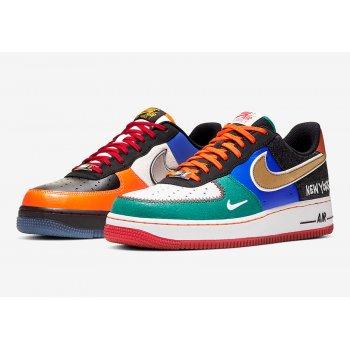 Παπούτσια Χαμηλά Sneakers Nike Air Force 1 Low  White/Black-Total Orange-Racer Blue