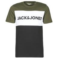 Υφασμάτινα Άνδρας T-shirt με κοντά μανίκια Jack & Jones JJELOGO Kaki