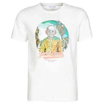 Υφασμάτινα Άνδρας T-shirt με κοντά μανίκια Jack & Jones JORDAAYS Άσπρο