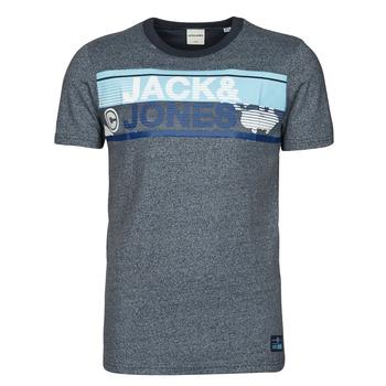 Υφασμάτινα Άνδρας T-shirt με κοντά μανίκια Jack & Jones JCONICCO Marine