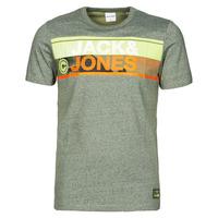 Υφασμάτινα Άνδρας T-shirt με κοντά μανίκια Jack & Jones JCONICCO Kaki