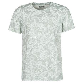 Υφασμάτινα Άνδρας T-shirt με κοντά μανίκια Jack & Jones JORLEFO Grey