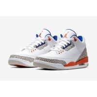 Παπούτσια Χαμηλά Sneakers Nike Air Jordan 3 Knicks Rivals White/Old Royal-University Orange-Tech Grey
