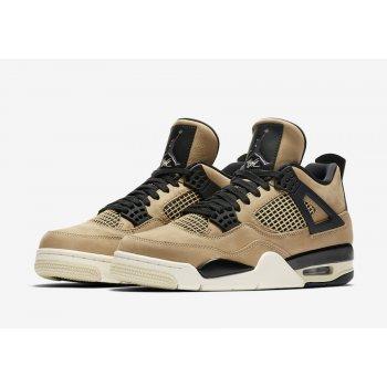 Παπούτσια Ψηλά Sneakers Nike Air Jordan 4 WMNS Mushroom Black/Fossil-Pale Ivory/Mushroom