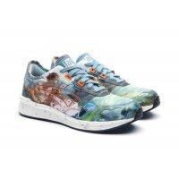 Παπούτσια Χαμηλά Sneakers Asics Asics HyperGEL-LYTE x Vivienne Westwood  LIGHT STEEL/ORANGE