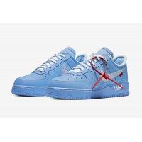 Παπούτσια Χαμηλά Sneakers Nike Air Force 1 Low MCA University Blue/White-University Red-Metallic Silver