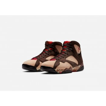 Παπούτσια Ψηλά Sneakers Nike Air Jordan 7 x Patta Og Shimmer/Tough Red-Velvet Brown-Mahogany Pink