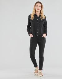 Υφασμάτινα Γυναίκα Ολόσωμες φόρμες / σαλοπέτες Betty London OPANTS Black