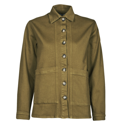 Υφασμάτινα Γυναίκα Τζιν Μπουφάν/Jacket  Betty London OVEST Kaki