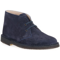 Παπούτσια Άνδρας Μπότες Isle BLU DESERT BOOT Blu