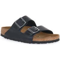 Παπούτσια Τσόκαρα Birkenstock ARIZONA BLACK OILED CALZ S Nero