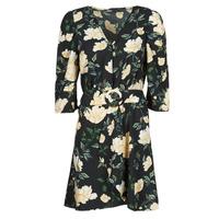 Υφασμάτινα Γυναίκα Κοντά Φορέματα Only ONLEVE 3/4 SLEEVE SHORT DRESS WVN Black