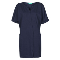Υφασμάτινα Γυναίκα Κοντά Φορέματα Benetton CAMILA Marine