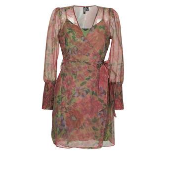 Υφασμάτινα Γυναίκα Κοντά Φορέματα Vero Moda VMABELIA Green / Red