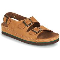 Παπούτσια Άνδρας Σανδάλια / Πέδιλα Scholl AIRBAG BACK STRAP Brown