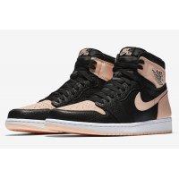 Παπούτσια Ψηλά Sneakers Nike Air Jordan 1 High Crimson Tint Black / Crimson Tint – Hyper Pink – White