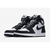 Παπούτσια Ψηλά Sneakers Nike Air Jordan 1 High Panda Black/Black-Metallic Gold-White