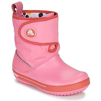 Παπούτσια Παιδί Snow boots Crocs CROCBAND ll.5 GUST BOOT KIDS PLEM PPY Ροζ