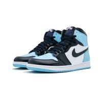 Παπούτσια Ψηλά Sneakers Nike Air Jordan 1 High UNC Patent Leather Obsidian/Blue Chill-White