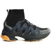 Παπούτσια Άνδρας Ψηλά Sneakers Cerruti 1881  Μπλέ