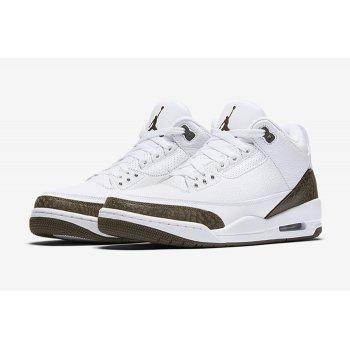 Παπούτσια Χαμηλά Sneakers Nike Air Jordan 3 Dark Mocha White/Chrome-Dark Mocha