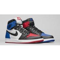 Παπούτσια Ψηλά Sneakers Nike Air Jordan 1 High Top 3 Black/Sail-University Blue-Varsity Red