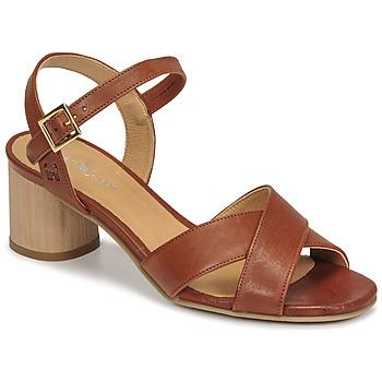 Παπούτσια Γυναίκα Σανδάλια / Πέδιλα Dream in Green ODAINE Tan