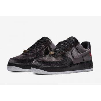 Παπούτσια Χαμηλά Sneakers Nike Air Force 1 Low Black Velvet Black/Black/White