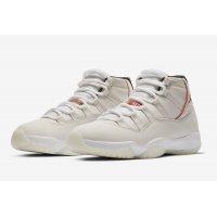 Παπούτσια Ψηλά Sneakers Nike Air Jordan XI Platinum Tint  Platinum Tint/Sail-University Red
