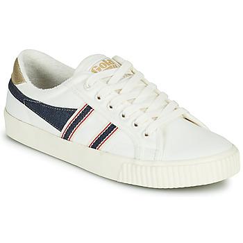 Παπούτσια Γυναίκα Χαμηλά Sneakers Gola TENNIS MARK COX SELVEDGE Άσπρο / Μπλέ