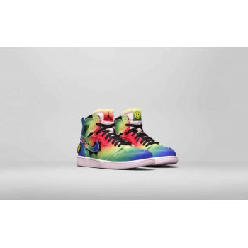 Παπούτσια Ψηλά Sneakers Nike Air Jordan 1 High x J Balvin Multi-Color/Black-Pink Foam-Multi-Color