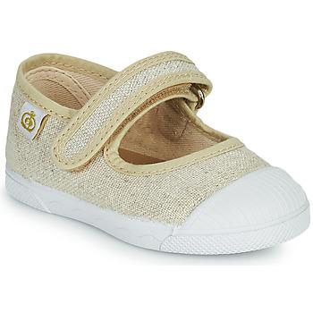Παπούτσια Κορίτσι Μπαλαρίνες Citrouille et Compagnie APSUT Beige