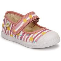 Παπούτσια Κορίτσι Μπαλαρίνες Citrouille et Compagnie APSUT Ροζ / Imprimé