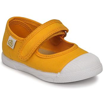 Παπούτσια Κορίτσι Μπαλαρίνες Citrouille et Compagnie APSUT Yellow