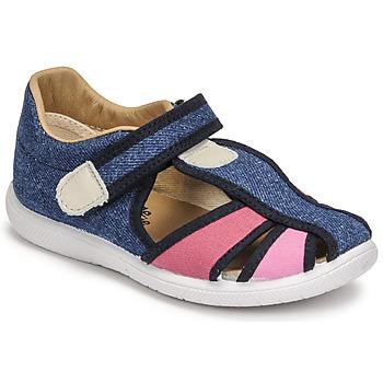 Παπούτσια Κορίτσι Σανδάλια / Πέδιλα Citrouille et Compagnie GUNCAL Μπλέ / Jeans