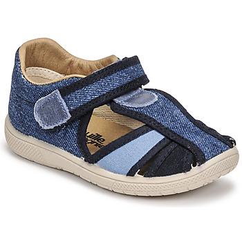 Παπούτσια Παιδί Σανδάλια / Πέδιλα Citrouille et Compagnie GUNCAL Μπλέ / Jeans