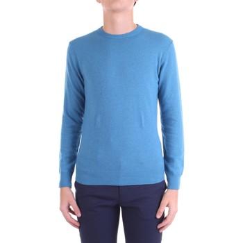 Υφασμάτινα Άνδρας Πουλόβερ Bramante D8001 Azzurro