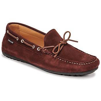 Παπούτσια Άνδρας Μοκασσίνια Pellet Nere Bordeaux