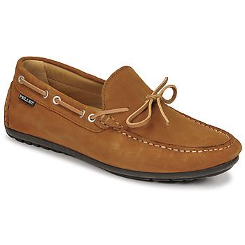 Παπούτσια Άνδρας Μοκασσίνια Pellet Nere Brown