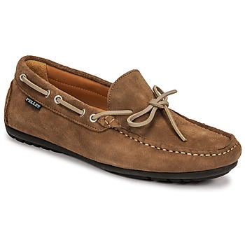Παπούτσια Άνδρας Μοκασσίνια Pellet Nere Taupe