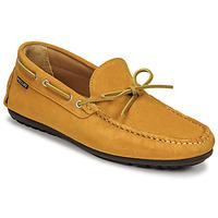 Παπούτσια Άνδρας Μοκασσίνια Pellet Nere Yellow