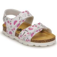 Παπούτσια Κορίτσι Σανδάλια / Πέδιλα Citrouille et Compagnie BELLI JOE Imprimé / Fruit